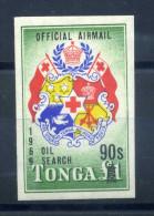 1969 TONGA SERIE COMPLETA MNH ** SERVIZIO AEREO N.27 - Tonga (1970-...)