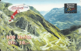 Prepaid:  Globalline - Pass-Strasse 12.99 - Svizzera