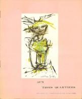 """Catalogue """"Aux Trois Quartiers"""" Couverture Madeleine Scellier  16 Pages Octobre 1961 Très Bon Etat - Textile & Vestimentaire"""