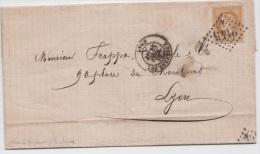 Facture Pour Lyon  -  18 Fev 1870 - Thème Vapeur - 1849-1876: Klassik