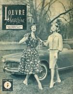 Louvre Magazine Catalogue Du Magasin Avril 1958 16 Pages Très Bon Etat - France