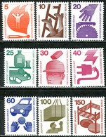 Berlin - Mi 402 / 411 - ** Postfrisch (A) - Unfallverhütung I - Unused Stamps