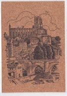 As - Cp En Liège ALBI (illustrée D. Lordey) - Cathédrale Et Palais De La Berbie - Albi