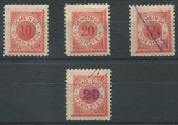 1046 - GYSENSTEIN Fiskalmarken - Steuermarken