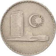 Malaysie, 50 Sen, 1988, Franklin Mint, TTB, Copper-nickel, KM:5.3 - Malaysie