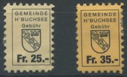 1047 - HERZOGENBUCHSEE Fiskalmarken - Fiscaux