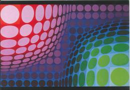 CPM Arts - Victor Vasarely - Bivega - 1968-72 - Peintures & Tableaux