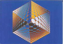 CPM Arts - Victor Vasarely - Tupa-3 - 1972 - Peintures & Tableaux