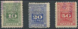 1049 - HERZOGENBUCHSEE Fiskalmarken