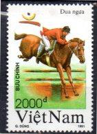 VIETNAM    N°1268  * *   Jo 1992     Hippisme - Horses