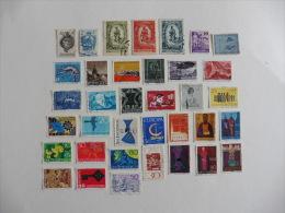 Liechtenstein :36 Timbres Oblitérés - Collections