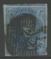 BELGIQUE: N°11a Oblitéré (4 Voisins)      - Cote 15€ -