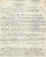VP3622 - Tabac - Note & Lettre De  Mr SCHLOESINGà PARIS - Documentos