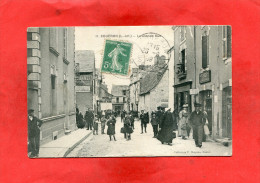 COUERON  ARDT NANTES 1910 LA  GRANDE RUE    CIRC OUI  EDIT - France