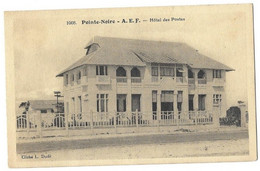 CPA, Pointe Noire, Hotel Des Postes - Guadeloupe