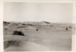 SAHARIENS CHAUFFEURS CAMION BERLIET Année Entre 1957et1960 Vue Sur Le Désert Les Dunes De Sable  (9) - Camions