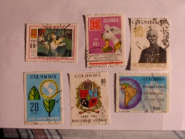 COLOMBIE - COLOMBIA  1967-9    LOT# 34 - Colombie