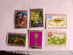 COLOMBIE - COLOMBIA  1968-9    LOT# 35 - Colombie