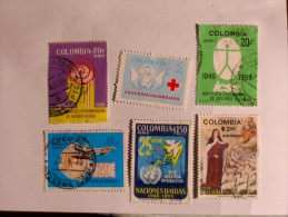 COLOMBIE - COLOMBIA  1969-72    LOT# 36 - Colombie