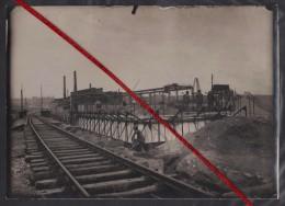 76 TANCARVILLE -- Culées Des Nouveaux Ponts Sur Le Canal De Tancarville_Caisson De Fondation Du Pont 6 Bis Bétonnage1930 - Luoghi