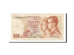 Belgique, 50 Francs, 1964-1966, KM:139, 1966-05-16, TB - [ 6] Treasury