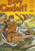 Davy Crockett N°4 Mensuel 132 Pages 1956 Bon Etat - Autres Auteurs