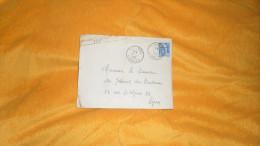 ENVELOPPE UNIQUEMENT DE 1955. / TURENNE A LYON. /  CACHETS  + TIMBRE. - Marcofilie (Brieven)