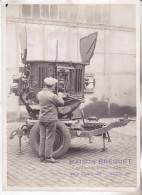 Militaria- Photo Projecteur Anti Aérien BREGUET. (entre 2 Guerres).Cachet Maison BREGUET Tb état. - Optique