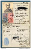 ETAT FRANCAIS CARTE D IDENTITE NOVEMBRE 1930 (LOT N9) - Mappe