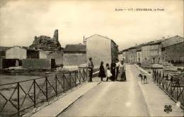 GRUISSAN - Le Pont - Animée - A Voir - N° 11181 - Ohne Zuordnung