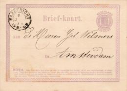 Bk G1 Maastricht -Amsterdam 6 JAN 71 Vroege Datum - Postal Stationery