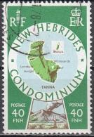 Nouvelles Hebrides 1977 Michel 480 O Cote (2005) 1.00 Euro Iles Tanna Et Aniwa Cachet Rond - Légende Anglaise
