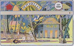 Télécarte Magnétique L&G Afrique 120 U - SEYCHELLES / SEY18B - Madam René´s House - Africa Phonecard - Seychelles