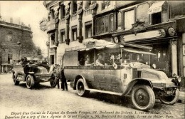PARIS - Départs D'un Circuit De L'Agence Des Grands Voyages - Animée - A Voir - N° 11197 - Trasporto Pubblico Stradale