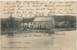 Comblain La Tour L´ Ourthe De Graeve No 4412 Timbrée Fleron 1906 - Comblain-au-Pont