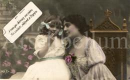 Postcard / CP / Postkaart / Girl / Fille / Femme / Woman / Ed. M. A. / 1906 - Grupo De Niños Y Familias