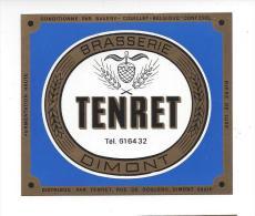 Etiquette De   Bière    -  Brasserie Tenret  à  Dimont  (Belgique) - Bier