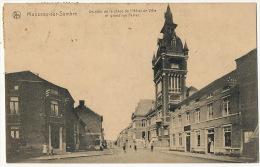 Monceau Sur Sambre Charleroi Un Coin De La Place De L' Hotel De Ville Et Grand' Rue Ferrer Edit Bardiau Louis Morlanwelz - Belgique