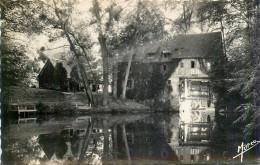 Andé -Canton Louviers-Nord Le Moulin Moulin à Eau Water Mill - EURE  27430 -Cp Avec Tirage Noir Et Blanc Glacée Dentelée - Altri Comuni