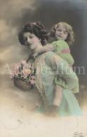 Postcard / CP / Postkaart / Fille / Girl / Woman / Femme / Ed. Fauvette / No 1042 / 1911 - Grupo De Niños Y Familias