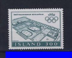 ISLANDE 1980 JO MOSCOU  Yvert: 508 NEUF MNH** - 1944-... Republic