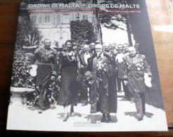 SMOM 1980 - LIBRO DI FOTOGRAFIE INEDITE 1880-1980 BILINGUE ITALIANO E FRANCESE - Religione