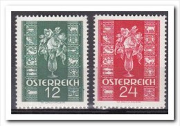 Oostenrijk 1937, Postfris MNH, Flowers - 1918-1945 1. Republik