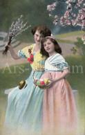 Postcard / CP / Postkaart / Fille / Girl / Femme / Woman / Ed. K. V. I. B. 12. / No 3555 / Unused - Grupo De Niños Y Familias