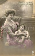 Postcard / CP / Postkaart / Bébé / Baby / Femme / Woman / Ed. S A R / No 2086 / 1912 - Grupo De Niños Y Familias