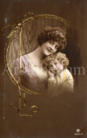 Postcard / CP / Postkaart / Boy / Garçon / Femme / Woman / Ed. R P H / No 4325-5 / 1914 - Grupo De Niños Y Familias
