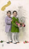 Postcard / CP / Postkaart / Boys / Garçons / Ed. P. C. / Paris / No 4311 - Grupo De Niños Y Familias