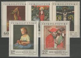 TCHECOSLOVAQUIE: N°1756/1760 **      - Cote 11€ - - Tschechoslowakei/CSSR