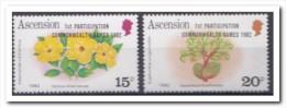 Ascension 1982, Plakker MH, Flowers - Ascension