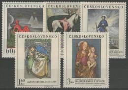TCHECOSLOVAQUIE: N°1686/1690 **      - Cote 16,50€ - - Tschechoslowakei/CSSR